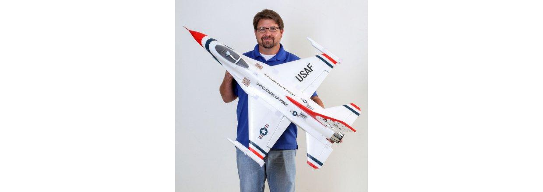 E-Flite F-16 Thunderbird 70mm EDF.