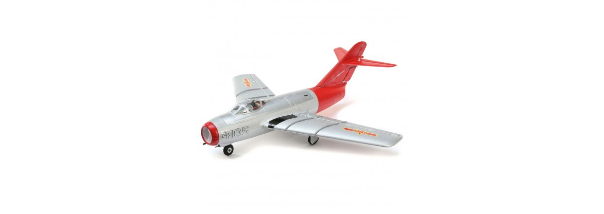UMX MiG-15, 28mm EDF Jet BNF Basic with AS3X and SAFE Select.