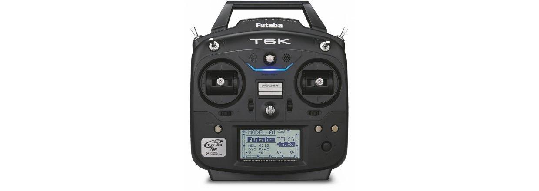 Futaba T6K-V2 sender og R3006SB modtager.