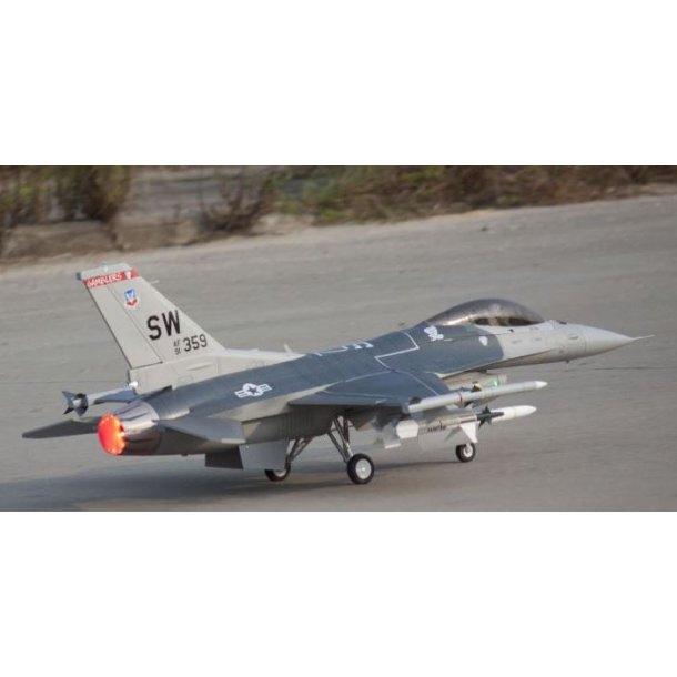 Freewing F-16 med Inrunner motor. LAGERVARE.