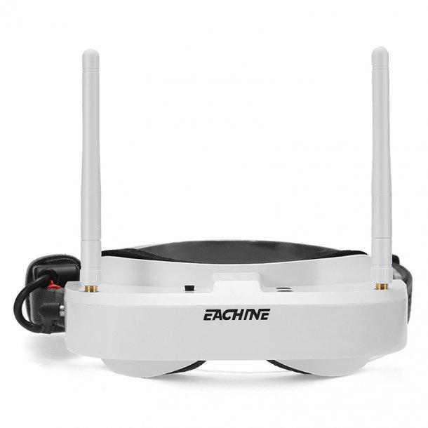 Eachine EV100 5.8GHz 72CH FPV Goggles, Hvid.