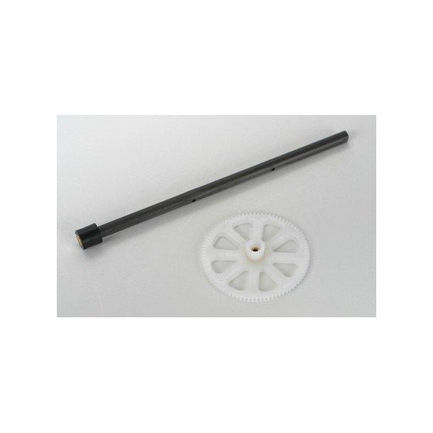 Yder aksel med hoved tandhjul til Blade mCX/mCX2