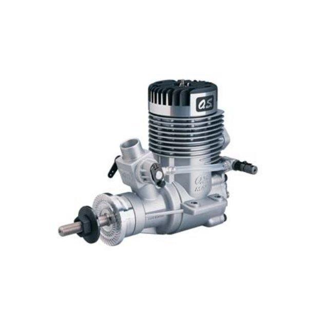 OS 140 RX 2-takt Metanolmotor, 23,0ccm med lyddæmper.
