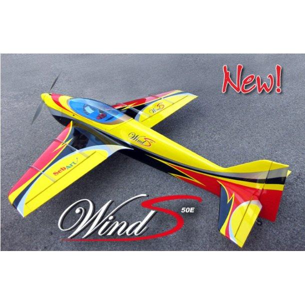 SEBART Wind S 50E, Gul/Rød