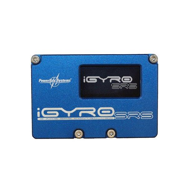 PowerBox iGyro inkl. SensorSwitch, GPS og USB. BESTILLINGSVARE.
