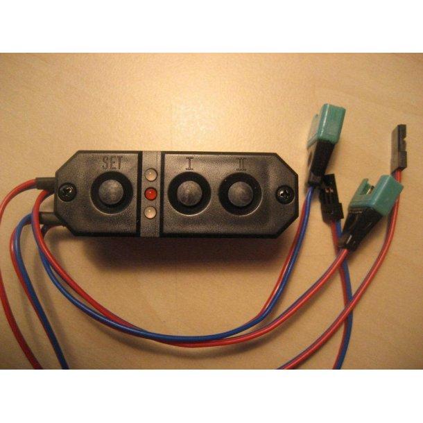 PowerBox Sensor med MPX stik. BESTILLINGSVARE.