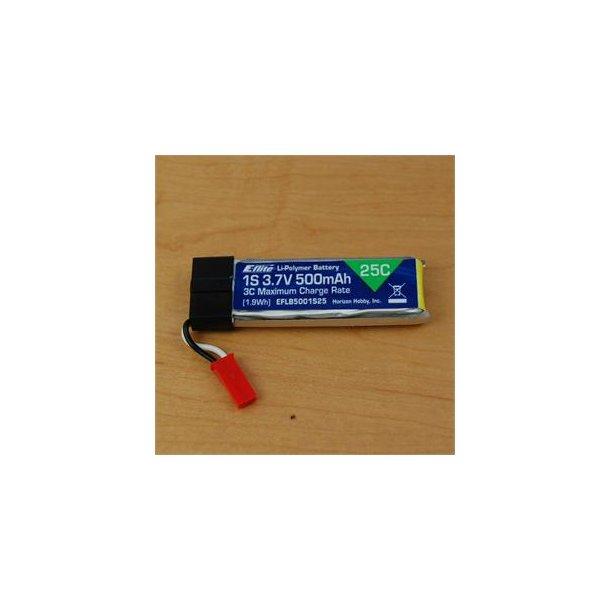 Batteri 500mAh-1S, 25C