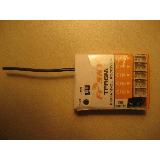 TFR6M mini-modtager, 6 kanaler