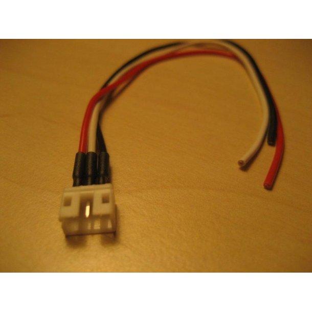JST-PH hanstik med ledninger