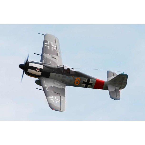 FMS 1400mm FW190-Y6 fly PNP. BESTILLINGSVARE.