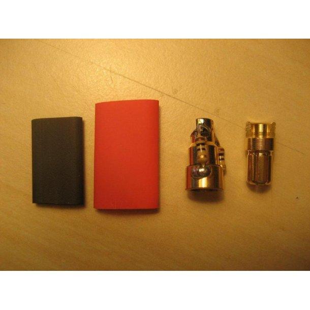 Antignist guldstik, 4mm eller 6mm