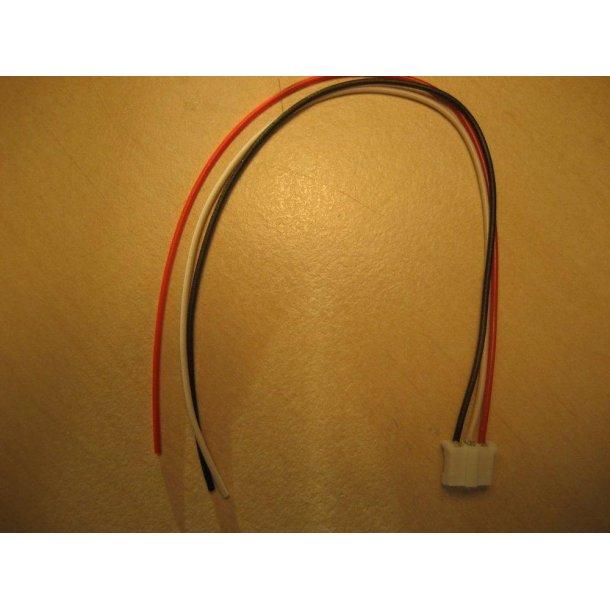JST-PH hunstik med ledninger