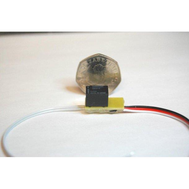 Ultra mikro relæ, 1 kontakt