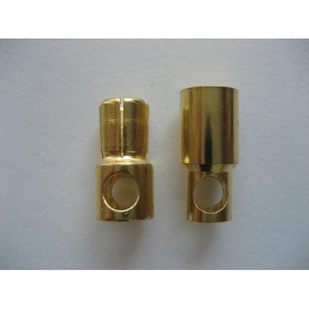 6mm Guldstik, 1 sæt