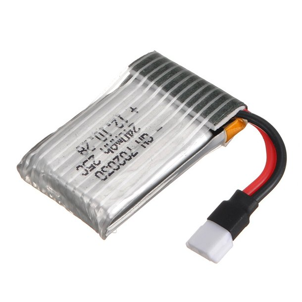 LiPo batteri 240mAh til Hubsan X4