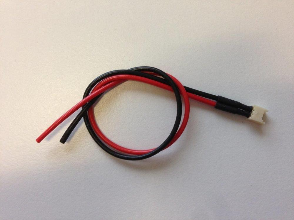 Kabel Molex til små 1s batterier fra E-Flite etc. - Diverse små LiPo batterier - RC-Netbutik
