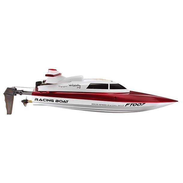 Speedbåd RTR 2,4GHz, RØD, 35 cm