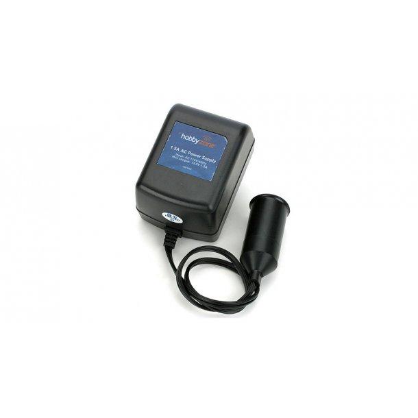 230V / 12V Strømforsyning 1,5Amp til cigartænder