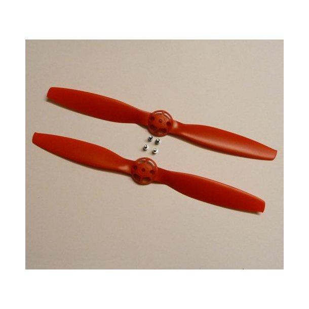 Propel Rød, højre- og vendrejende til Blade 350 QX