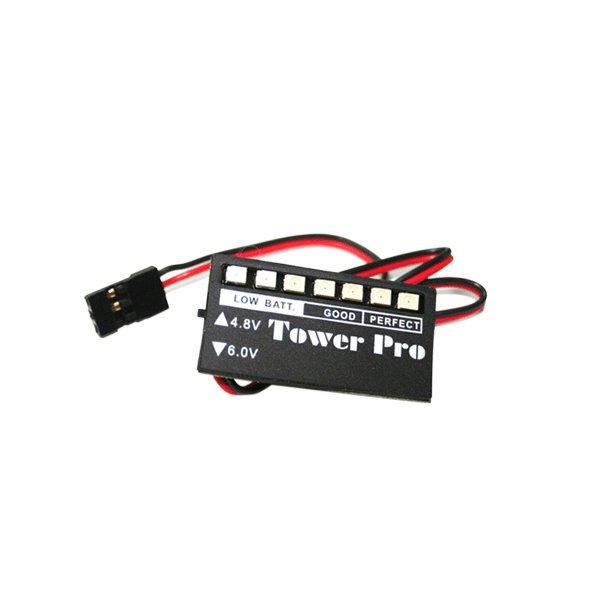 Batteri kontrol til både 4,8 og 6,0 Volt