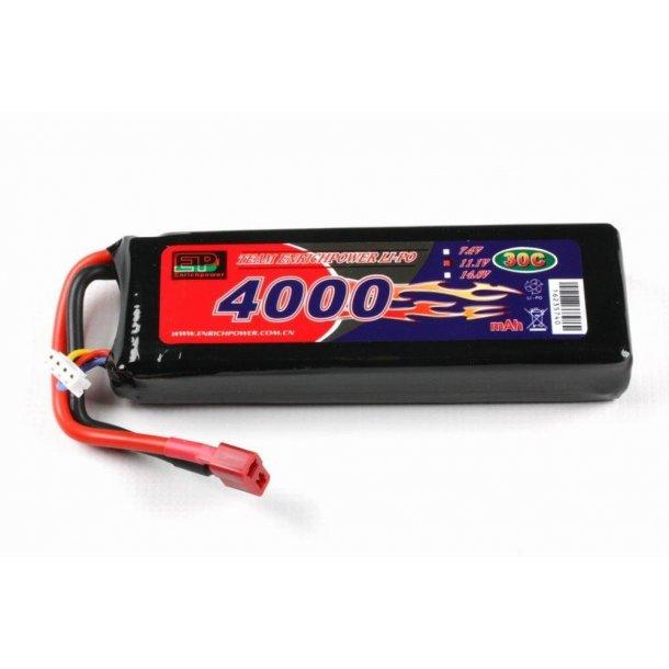 11,1 Volt 4000mAh LiPo batteri, 35C