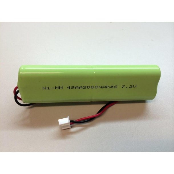2000 mAh NiMH batteri til Taranis sender