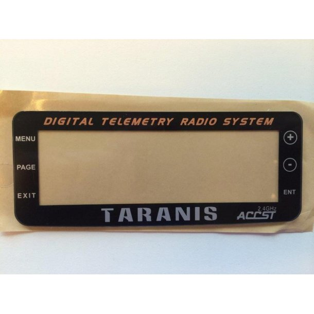 Display glas til Taranis Plus sender