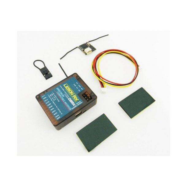 Lemon DSMX Spektrum kompatibel 10-kanals modtager