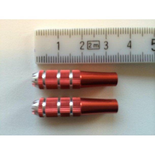 Styrepindssæt med 4mm gevind, 8x34mm rød