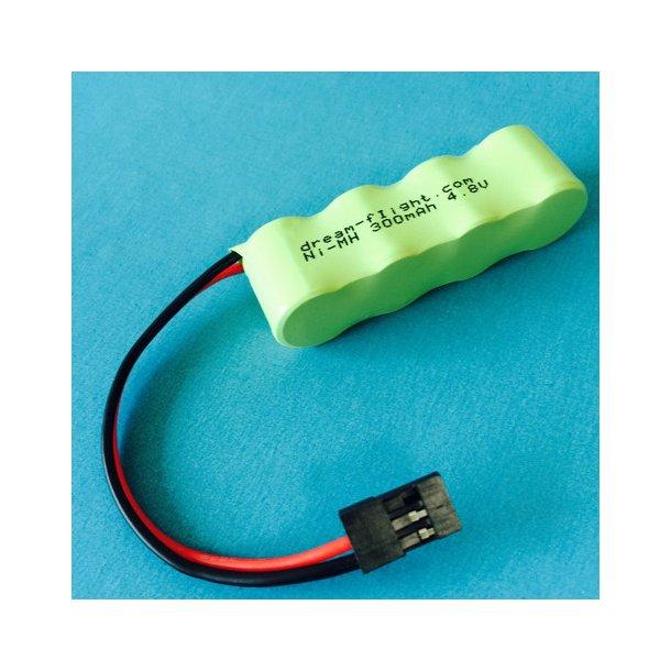 Modtager batteri NiMH til Libelle og Alula TREK