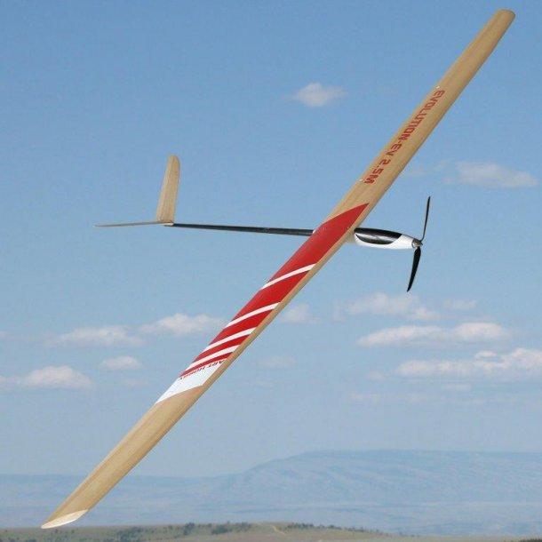 Evolution-EV 2,5 meter EL-svævefly
