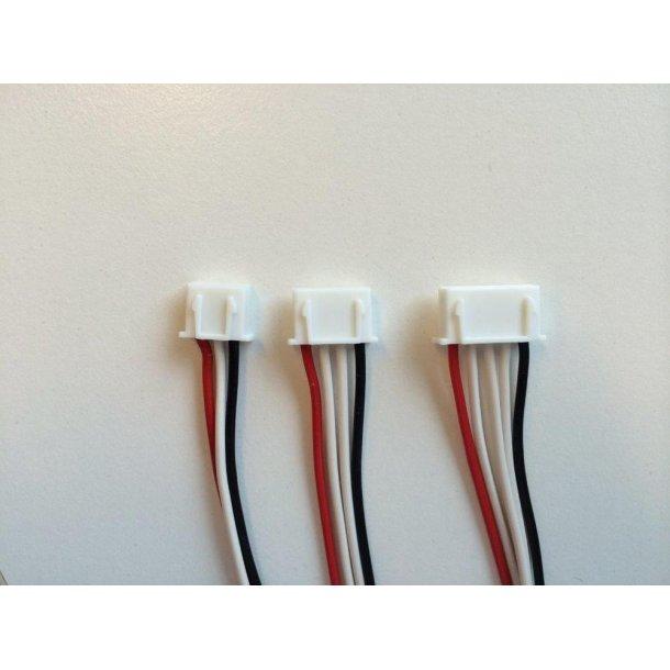 Kabel 4s med XH balancerstik, batterisiden