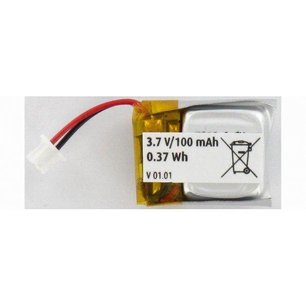 LiPo batteri, 100mAh til Nano Quadcopter