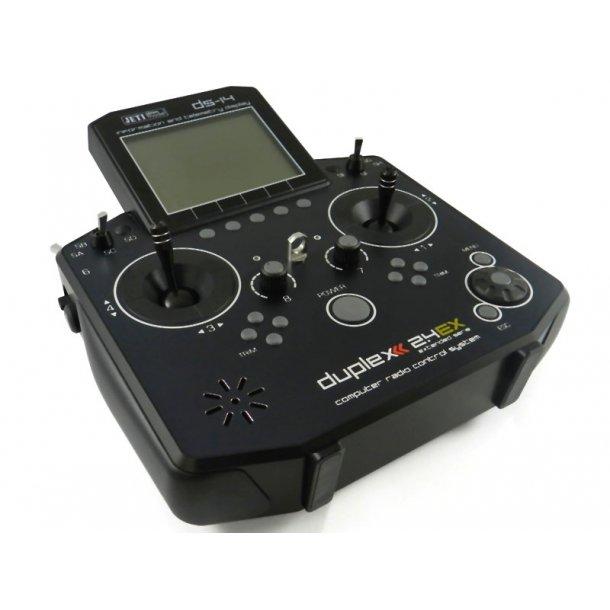 Jeti DS14 sender, 2,4 GHz, Mode 2