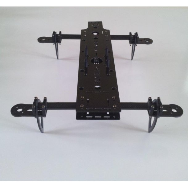 Black Mamba V2 base frame kit fra Quadrysteria