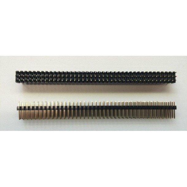 Break out pins 3x40 pins, 2 stk