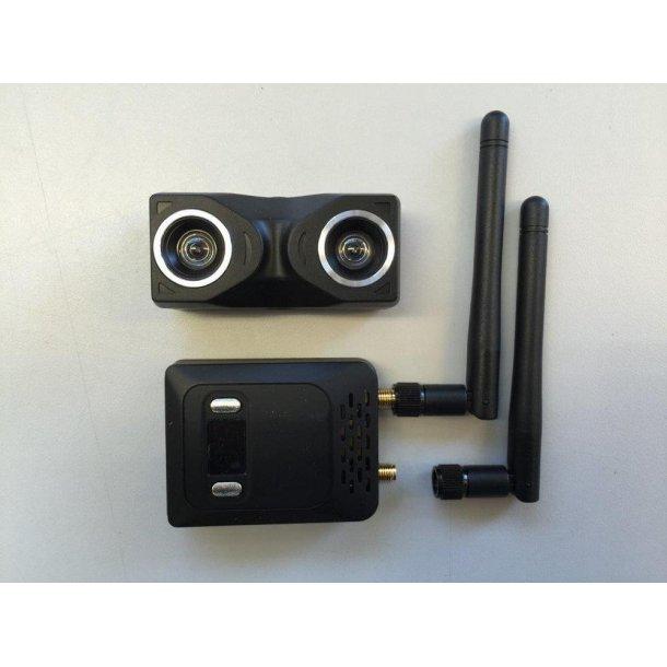 Skyzone 3D kamera og videosender