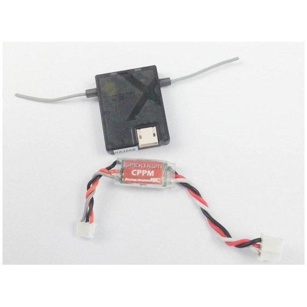 PPM kabel til Spektrum og Vortex