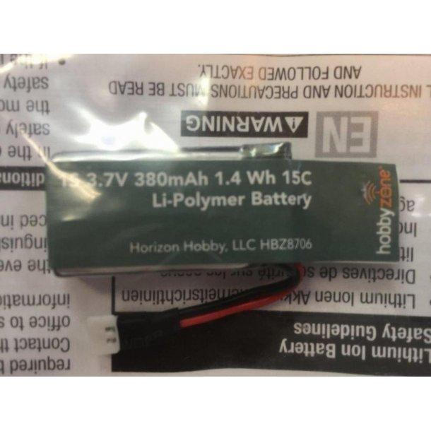 Batteri 380mAh til Hobbyzone Zugo