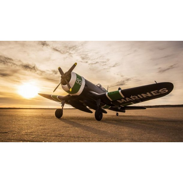 E-flite F4U-4 Corsair 1,2m med AS3X, BNF basic