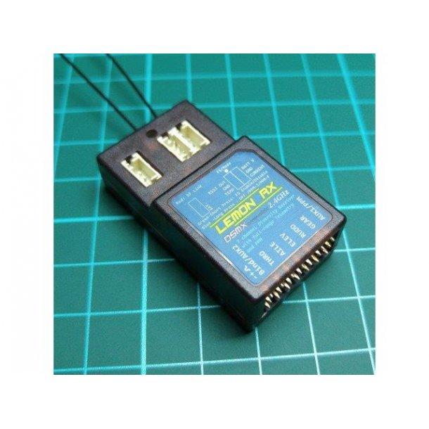 Lemon DSMX Spektrum 7-kanals telemetri/modtager
