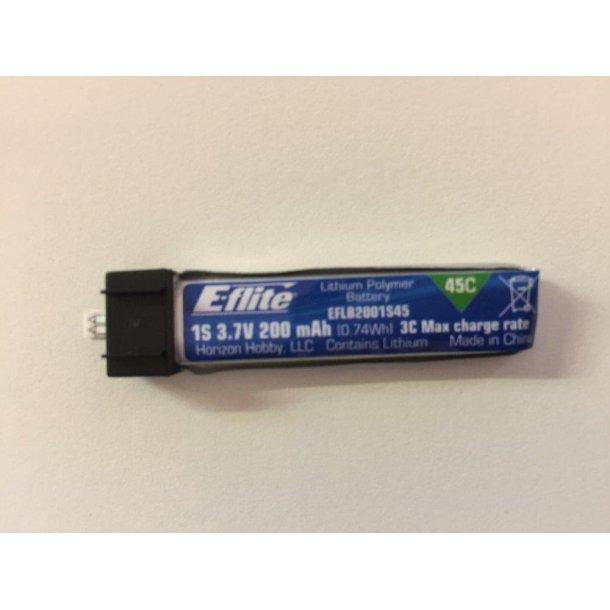 200mAh-1S 45C LiPo batteri