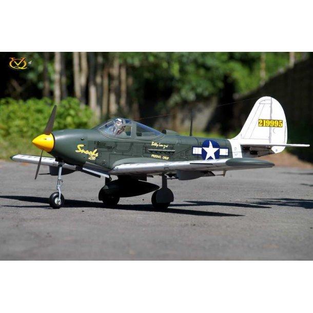 P-39 Aircobra 46 size EP-GP fra VQ Model