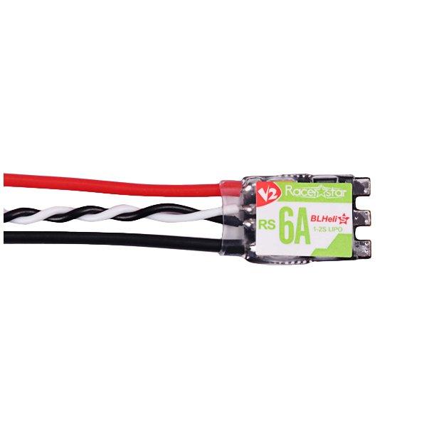 Racerstar 6 Ampere fartregulator til 1-2S LiPo
