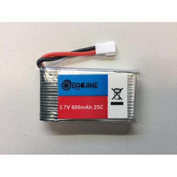Batteri 600mAh-1S til Eachine Turbine QX70