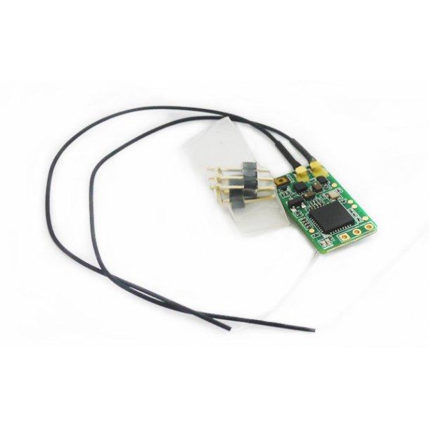 XM+, EU mikro SBUS modtager fra FrSky