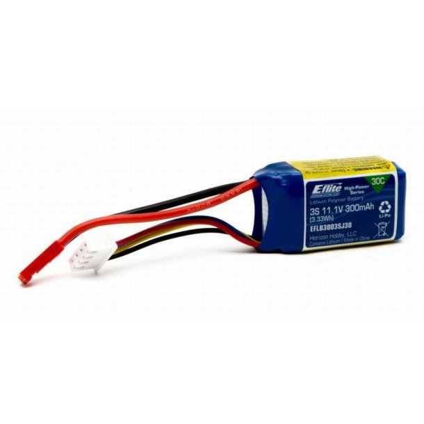 300mAh 3S batteri til Blade 130 S