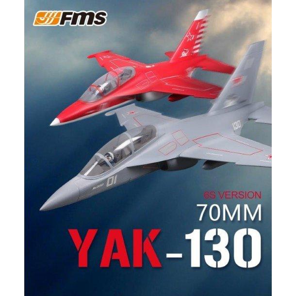 FMS 70mm Yak 130 jagerfly PNP. BESTILLINGSVARE.