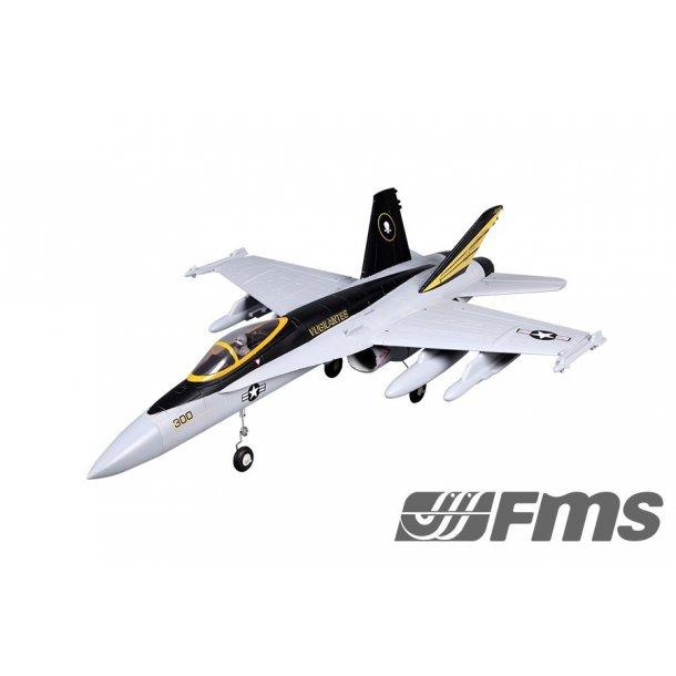 FMS 64mm F18 V2 jagerfly PNP. BESTILLINGSVARE.