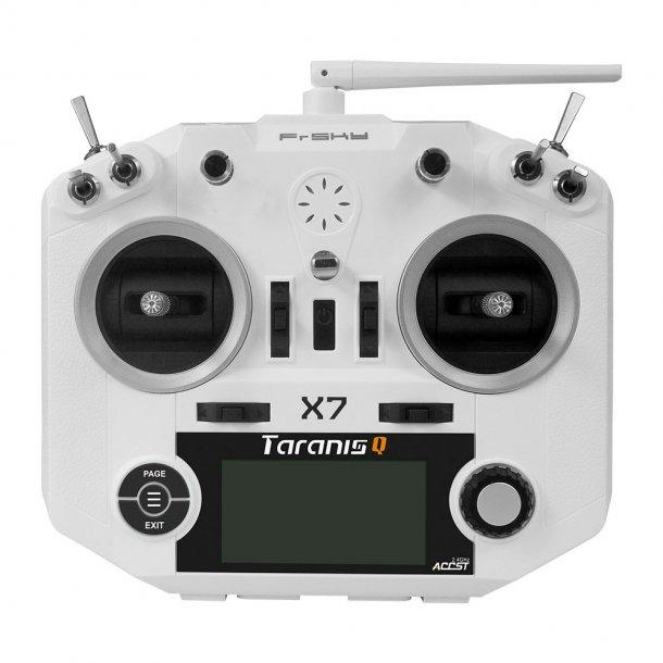 Taranis Q X7, Hvid ACCST-sender. Husk at bestille batteri og lader.